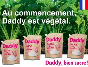Daddy : le sucre à l'heure du végétal