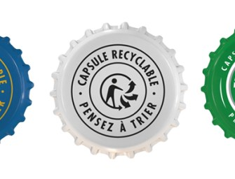 Heineken veut que l'on recycle ses capsules