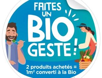 Faites un «Bio Geste» avec Paysan Breton
