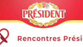 PRESIDENT lance son site de rencontres culinaires