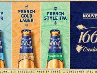 Kronenbourg s'inspire des craft beers en lançant «1664 Créations»