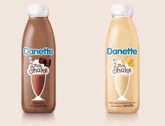 Danette se lance dans le Milkshake