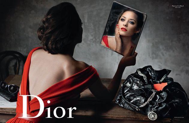L'actrice française Marion Cotillard est l'egerie de la ...