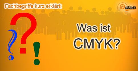 Was ist CMYK?