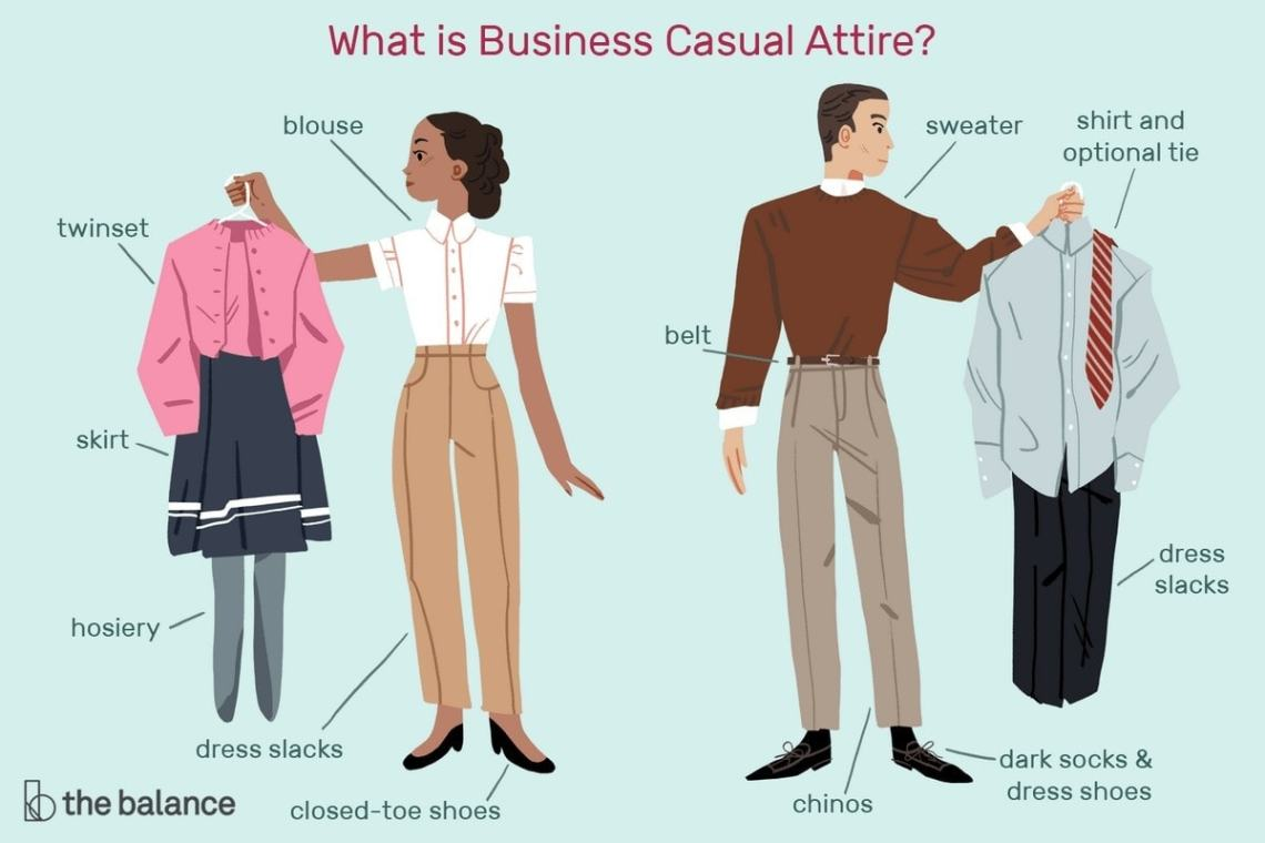 How To Dress In Business Casual? Tips by Marketing91