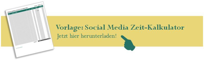 Vorlage: Social Media Zeit-Kalkulator