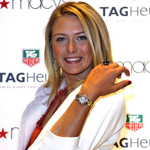 Maria Sharapova diseña gafas y relojes para Tag Heuer