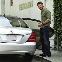 Mercedes-Benz atrae a Hollywood con sus vehículos ecológicos