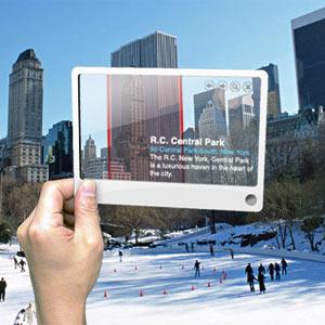 Llegan las tarjetas de visita de realidad aumentada