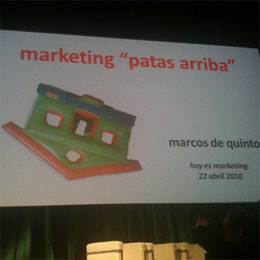 """El marketing está patas arriba"", Marcos de Quinto"