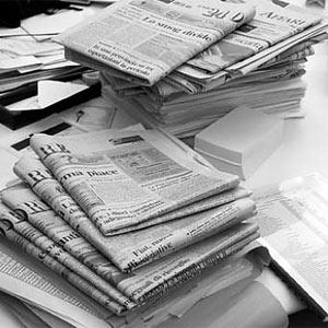 Las ventas de los periódicos en EEUU caen un 8,7% en 6 meses