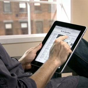 La navegación es la función más utilizada en el iPad