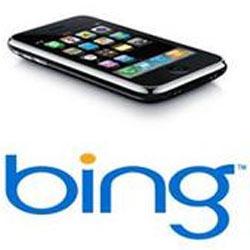 Bing, ¿buscador predeterminado del iPhone?