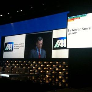 Sorrell: La industria publicitaria es cada vez más importante en la economía global
