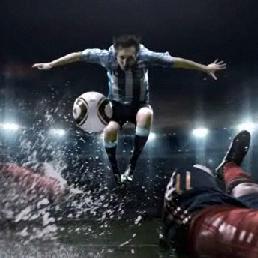 Adidas lanza su anuncio para el Mundial con Zidane, Villa y Messi
