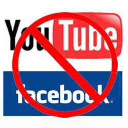 Pakistán bloquea el acceso a YouTube y Facebook