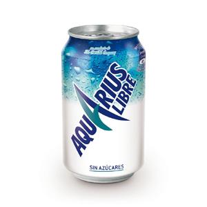 Coca-Cola lanza Aquarius Libre, más ligero y sin azúcar