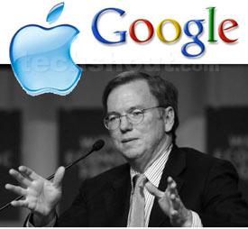 Google y Apple se enfrentan por la telefonía móvil y el cloud computing