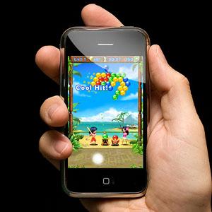 Los juegos móviles generan 140 millones de beneficio