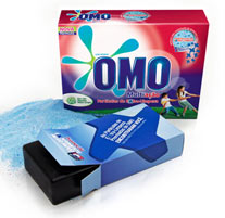 El detergente Omo incluye un GPS para seguir a los consumidores