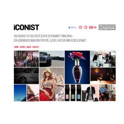 """""""The Iconist"""", la revista de lujo de Axel Springer para el iPad, ahora también en inglés"""