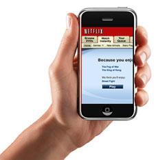 La nueva aplicación de Netflix para el iPhone impulsa el vídeo