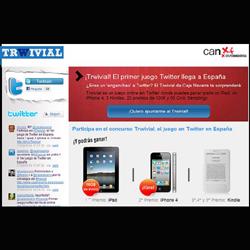 Caja Navarra lanza un concurso de preguntas en Twitter