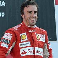 El Santander felicita a Fernando Alonso como patrocinador