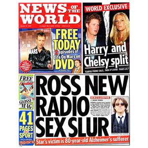 News of the World pondrá en marcha una suscripción de pago en octubre