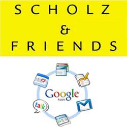 La agencia alemana Scholz & Friends se monta en el carro de Google Apps