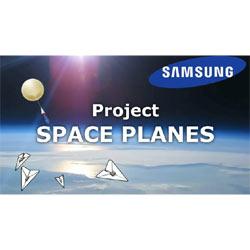 Samsung prepara una lluvia de aviones de papel con mensajes en tarjetas de memoria SD