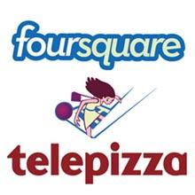 Telepizza se anima a captar y fidelizar clientes a través de Foursquare
