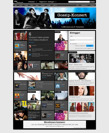 MySpace estrena nuevo logo y nueva estrategia