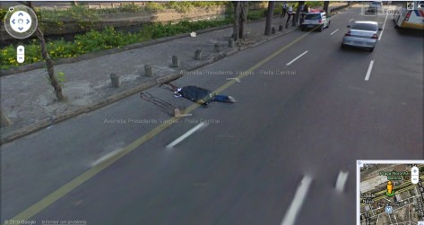 Google Street View captó imágenes de cadáveres en Brasil
