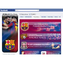 El Barça es el nuevo rey de Facebook