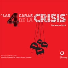 Sólo un 15% de los españoles está deseando gastar tanto como antes de la crisis