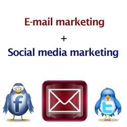 Redes sociales y correo electrónico: la unión hace la fuerza