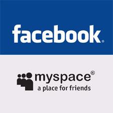 MySpace se asocia con Facebook