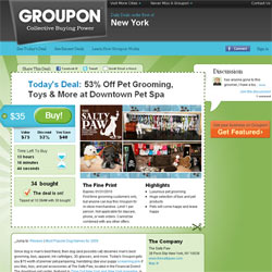 Google pone 6.000 millones de dólares sobre la mesa para hacerse con Groupon