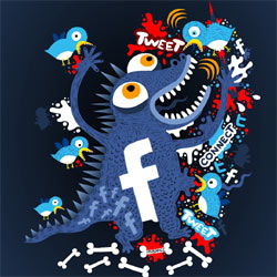 ¿Por qué Twitter sigue a la sombra de Facebook?
