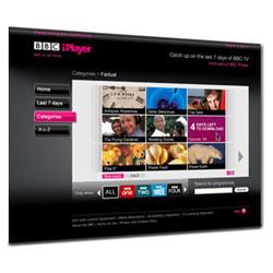 La mediateca online de la BBC recibió más de 1.300 millones de visitas en 2010