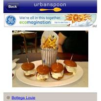 Fotos de los platos, lo último en herramientas de localización-recomendación
