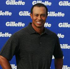Gillette no renueva el contrato publicitario con Tiger Woods