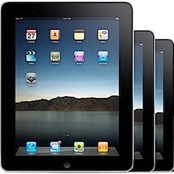 """El iPad 2 aterrizará """"por partida triple"""" en el mercado"""