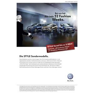Karl Lagerfeld derrocha estilo para Volkswagen