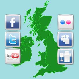 El gasto publicitario en redes sociales en Reino Unido se duplicará en 2012