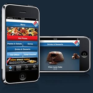 La aplicación para iPhone de Domino's Pizza alcanza 1,3 millones de dólares en ventas