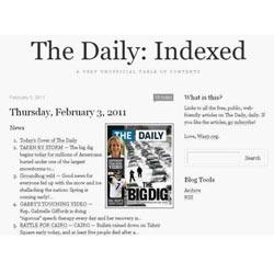 """""""The Daily"""", el diario para el iPad que se lee sin el iPad"""