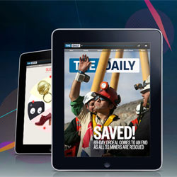 """The Daily"" le pone los cuernos a Apple con Android"