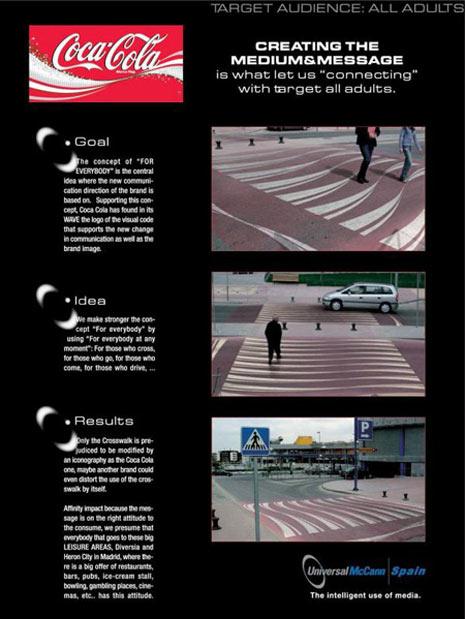 23 anuncios en pasos de cebra que no podrás pasar por alto